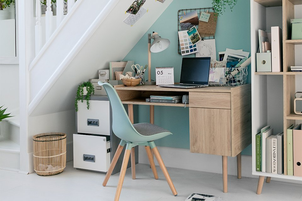 Image about a home office.