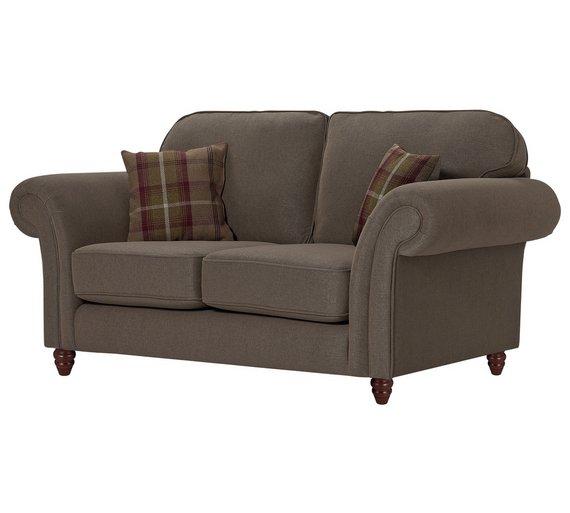 buy heart of house windsor 2 seat high back sofa mink heather at your online. Black Bedroom Furniture Sets. Home Design Ideas
