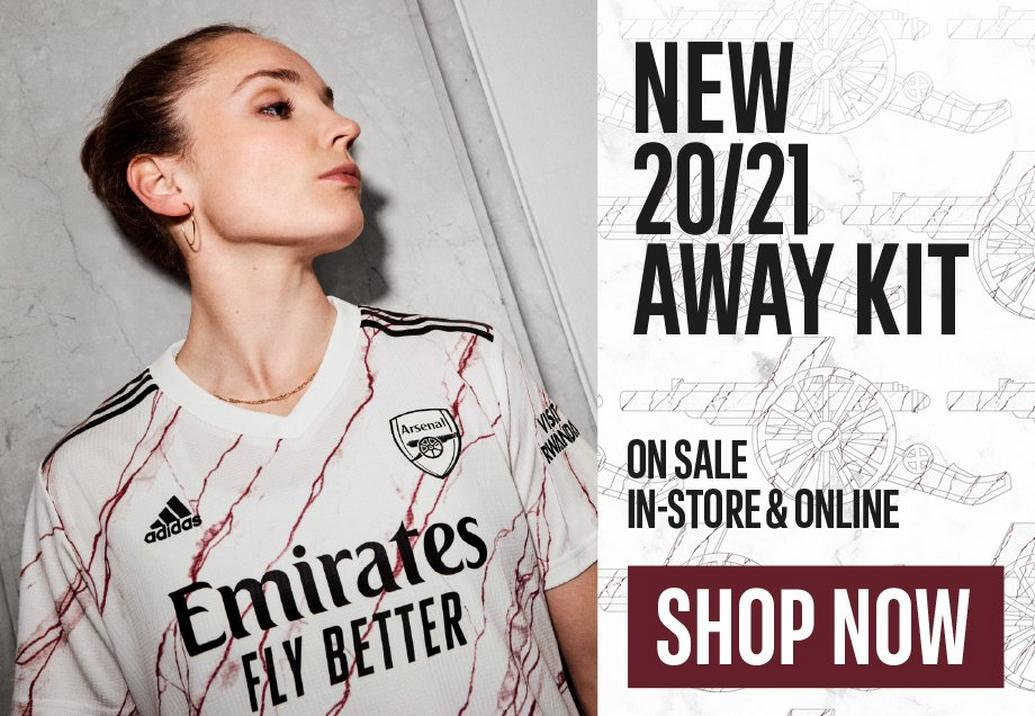 New 2021 Away Kit