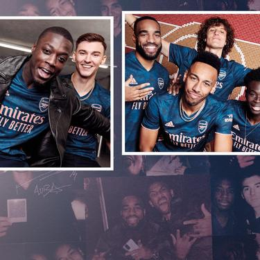 The Arsenal 20 21 Third Kit Official Online Store Official Online Store