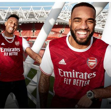 The Arsenal 20 21 Home Kit Official Online Store