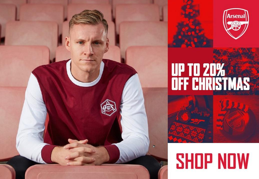 Up to 20% off Christmas