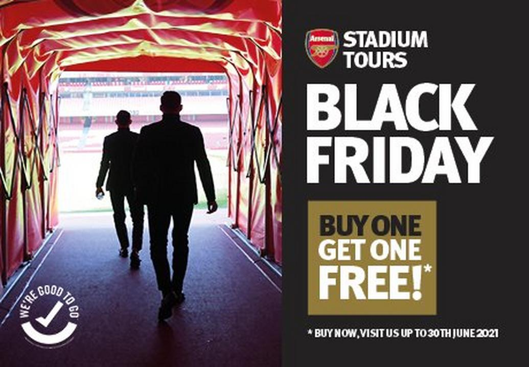 Buy 1 get 1 free on stadium tours