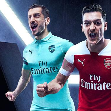 fa3fc5e54 The Arsenal 18 19 Kit. Home ...