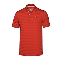 Arsenal Mixed Stripe Golf Polo