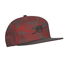 Arsenal 17/18 Camo Home Snapback Red Cap