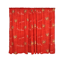 "Arsenal Curtains 72"" Drop"
