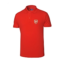 Arsenal Red Crest Polo Shirt