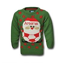 Arsenal Junior Christmas Jumper