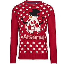 Arsenal Christmas Snowman Jumper