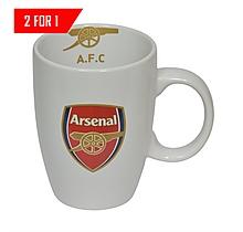 Arsenal White Bistro Mug