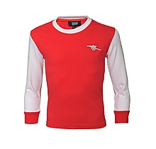 Arsenal Kids Retro 1970s Shirt (2-7yrs)