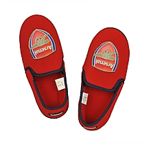 Arsenal Youth Red Slippers