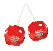 Arsenal Car Dice