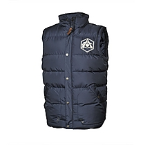 Arsenal Hooded Puffa Gilet