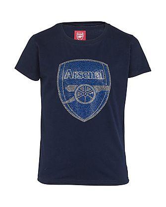 Arsenal Girls Rhinestone T-Shirt