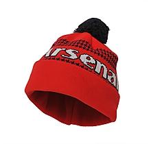 Arsenal Junior Bobble Hat Beanie