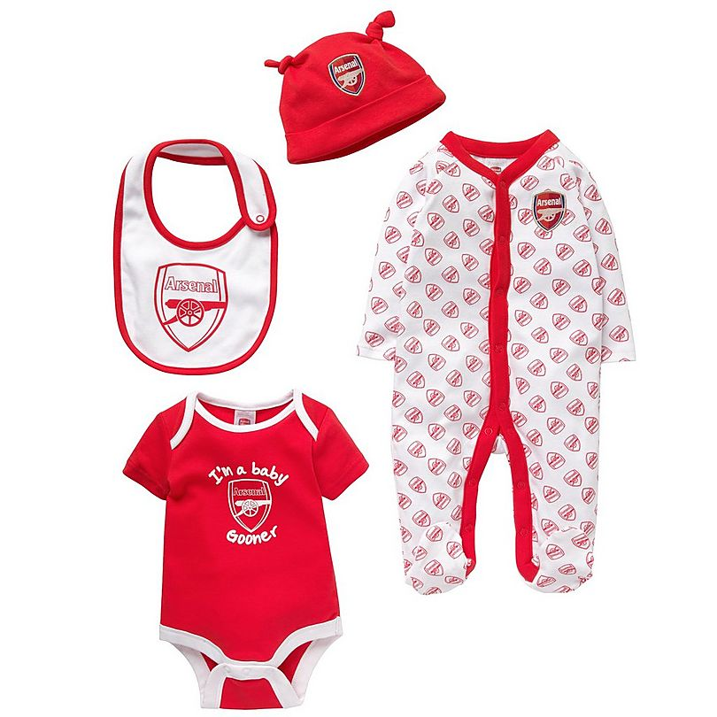c473501bd Arsenal 4 Piece Babygrow Set | Official Online Store