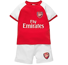Arsenal Baby Shorts and T-Shirt Set
