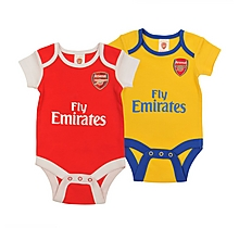 Arsenal Toddler 2 Pack Babygrow Kit