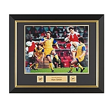 Arsenal Signed and Framed Alan Smith Print