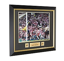 Arsenal Signed and Framed David Seaman 2003 FA Cup Semi-Final Print
