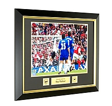 Arsenal Signed and Framed Ray Parlour 2002 FA Cup Final Print
