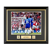 Arsenal Framed Signed Ray Parlour 2002 FA Cup Final Print