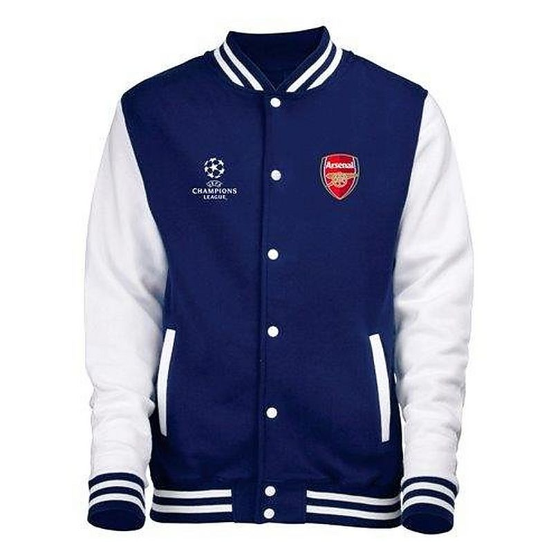 5cd1f9711b2349 Arsenal Champions League Baseball Jacket