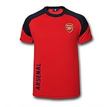Arsenal Poly Panel Red Tee