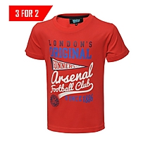 Arsenal Junior Fraternity Graphic T-Shirt