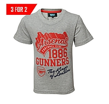 Arsenal Kings of London Junior Old School T-Shirt