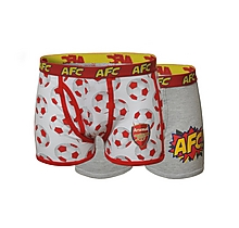 Arsenal Junior 2pk Boxers
