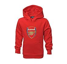 Arsenal Junior Fleece Crest Hoody