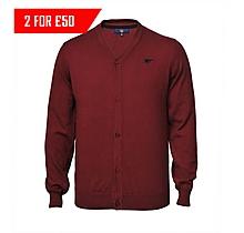 Arsenal Red Cardigan
