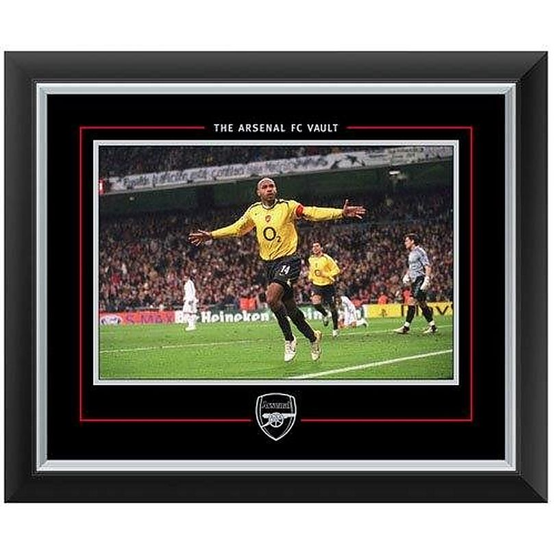 c84371c4e55 Arsenal Thierry Henry Framed Print