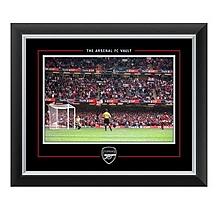 Arsenal Patrick Vieira Framed Print