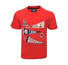 Arsenal Infant  Flag Graphic T-Shirt