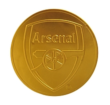 Arsenal Chocolate Gold Coin