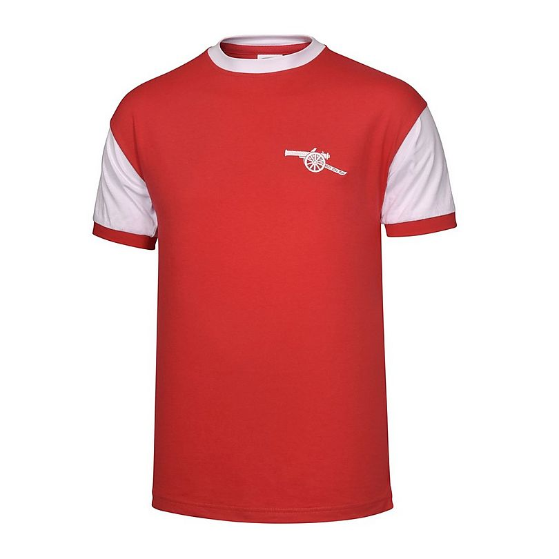 arsenal 70 72 retro t shirt official store