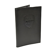Arsenal Leather Passport Holder