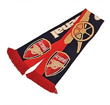 Arsenal Gunners Text Bar Scarf