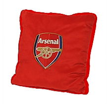 Arsenal Plush Crest Cushion