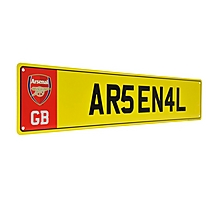 Arsenal License Plate