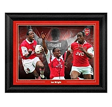 Ian Wright Arsenal Montage Print