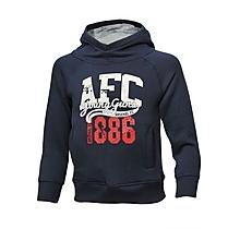 Arsenal 1886 Crew Neck Fleece Hoody