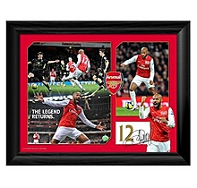 Henry Legend Arsenal Montage Print