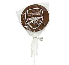 Arsenal Chocolate Lollipop