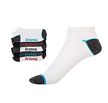 Arsenal Kids Trainer 5pk Socks