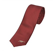 Arsenal Mens Skinny Red Tie